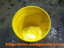 Полиэфирный гелькоут желтый