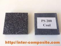 Полиэфирная крошка Coal
