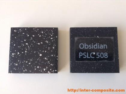 Полиэфирная крошка Obsidian купить по низкой цене
