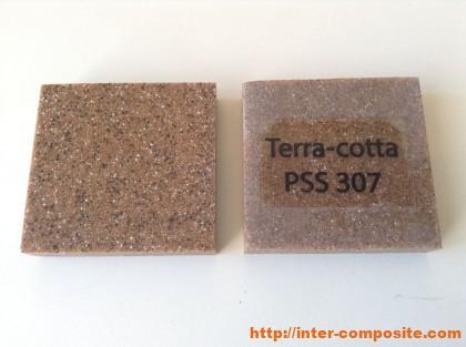 Полиэфирная крошка Terra-cotta купить по низкой цене