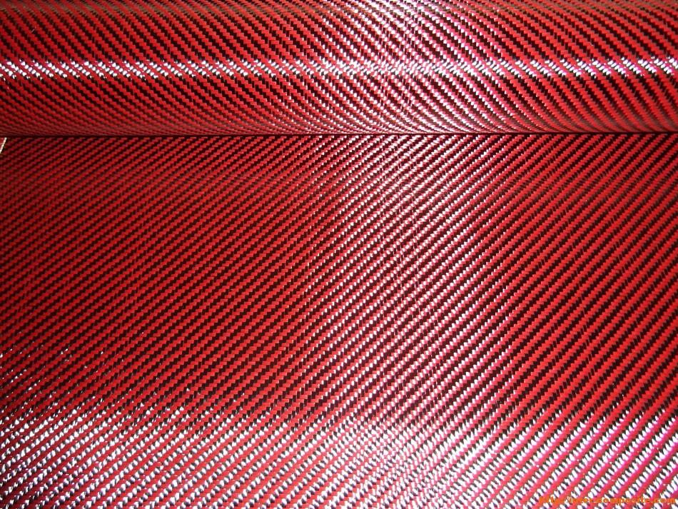 Карбон-кевлар красный купить по низкой цене