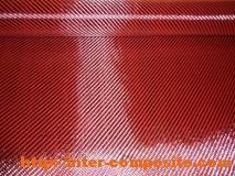 марки, характеристики, разновидности, виды Карбон-кевлар красный