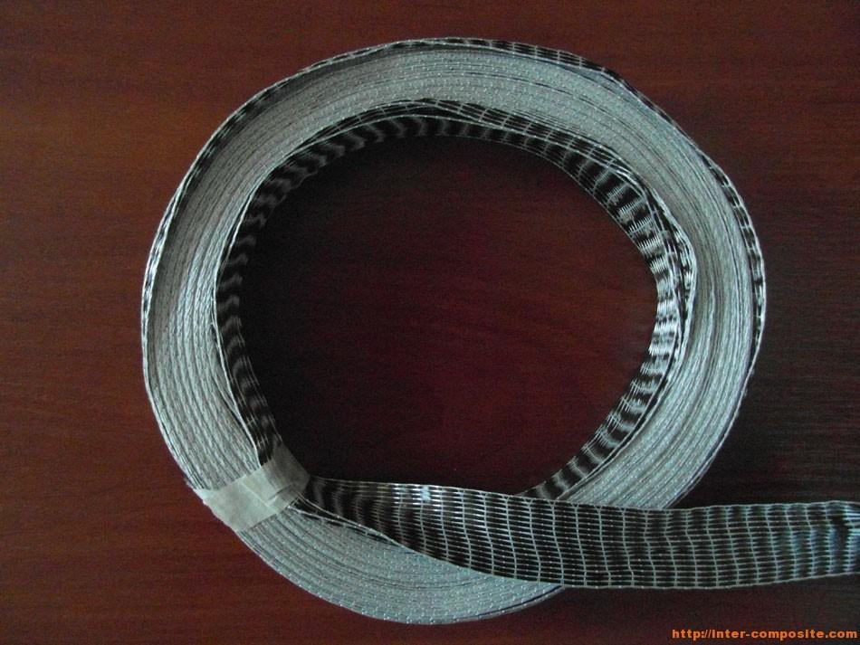 Лента углеродная однонаправленная 2.5см | Inter-Composite | Композитные материалы
