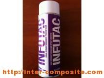 марки, характеристики, разновидности, виды Аэрозольный клей Infutac