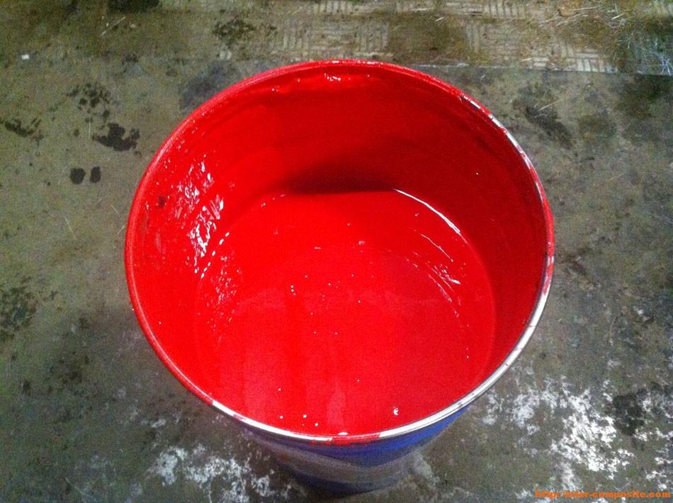Полиэфирный гелькоут красный купить по низкой цене