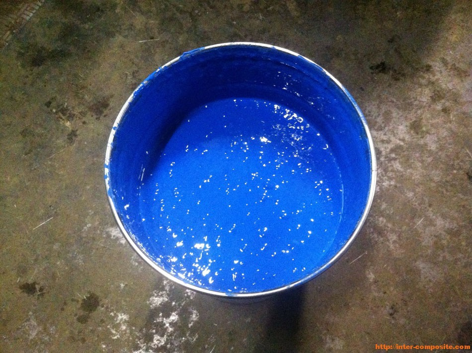 Полиэфирный гелькоут синий купить по низкой цене