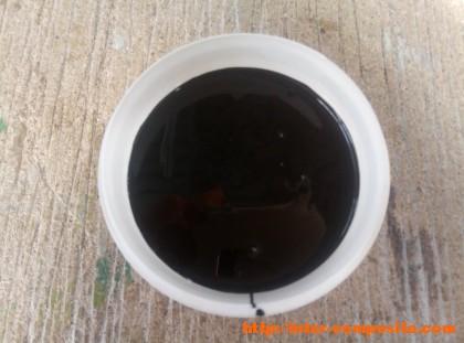 Черная эпоксидная смола LH-260