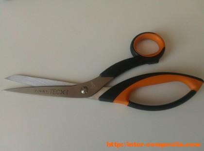 Ножницы для карбона, кевлара
