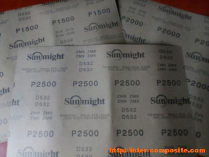 Наждачная бумага Sunmight Р1500
